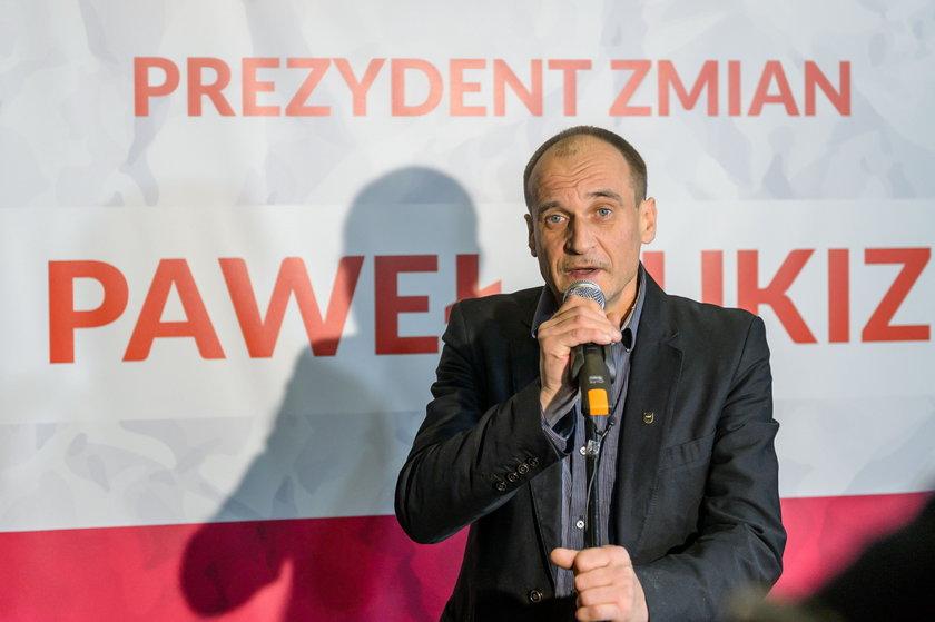 Coraz więcej wyborców za Kukizem!