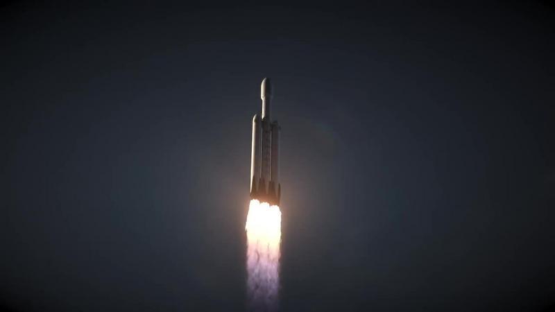 Dziewiczy lot Falcon Heavy dopiero w listopadzie