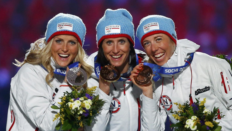 Norweżki na podium