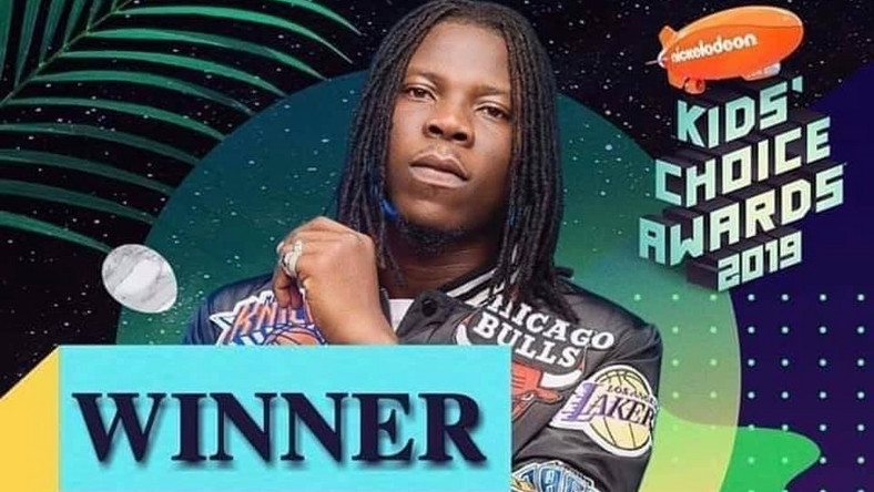 Stonebwoy wins KIDs Choice Awards