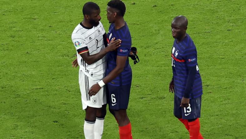 Antonio Ruediger, Paul Pogba i N'Golo Kante