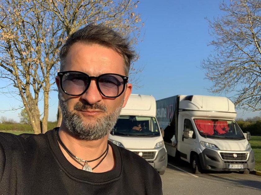 Po tym, jak Tomasz Kafarski (46 l.) przestał trenować Sandecję, zajął się usługami transportowymi