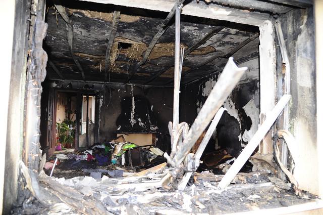 U požaru je izgorela jedna velika prostorija