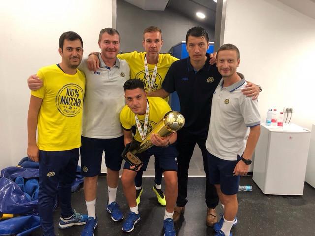 Vladimir Ivić je osvojio prvi trofej na klupi Makabija