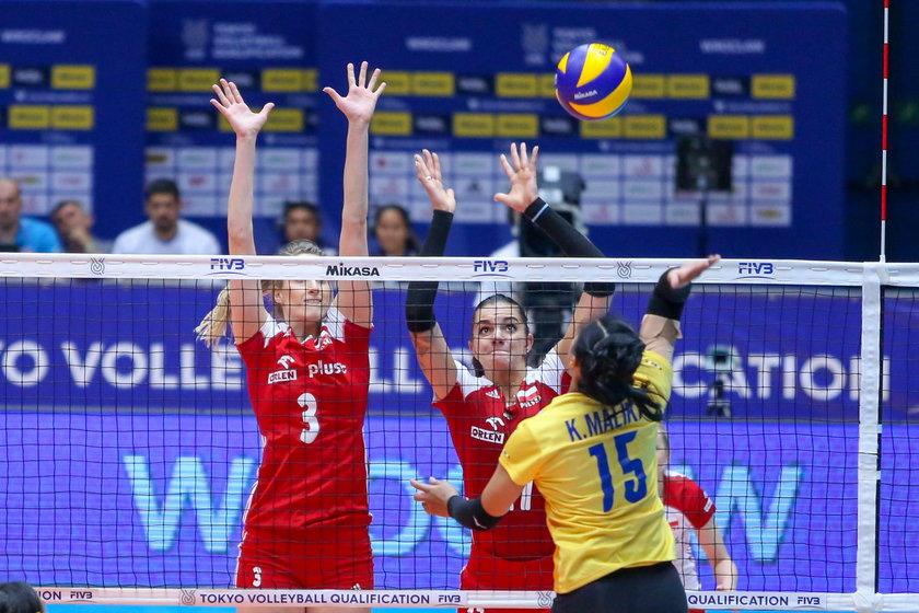Siatkowka kobiet. Kwalifikacje olimpijskie Tokio 2020. Polska - Tajlandia. 03.08.2019
