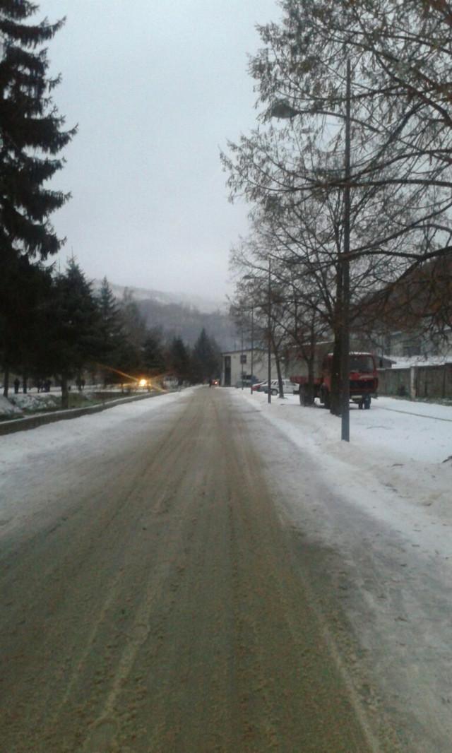 Zaleđene ulice Majdanpeka
