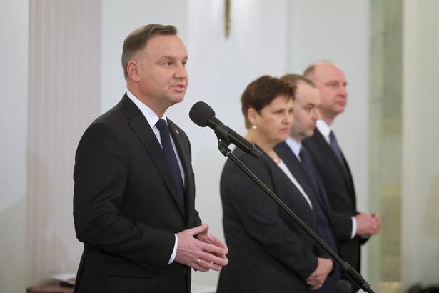 Prezydent Andrzej Duda podpisał nowelizację o działach administracji rządowej