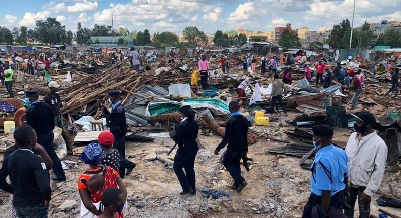 Government disowns letter ordering investigations into Kariobangi North evictions