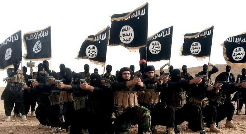 File image of the militant group Isis