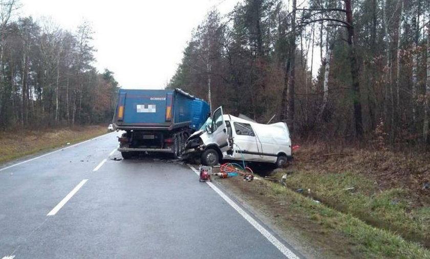 Wypadek w Suchowoli