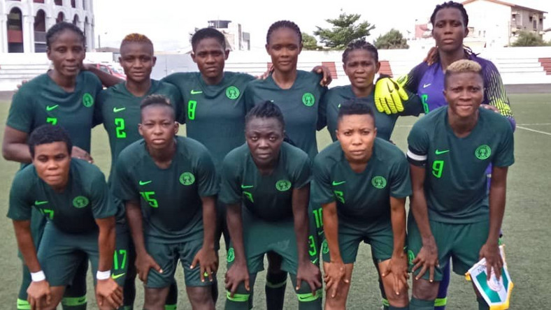 Super Falcons of Nigeria beat Niger 15-0 to reach semifinals of 2019 WAFU Women's Cup (Twitter/NGSuper_Falcon)