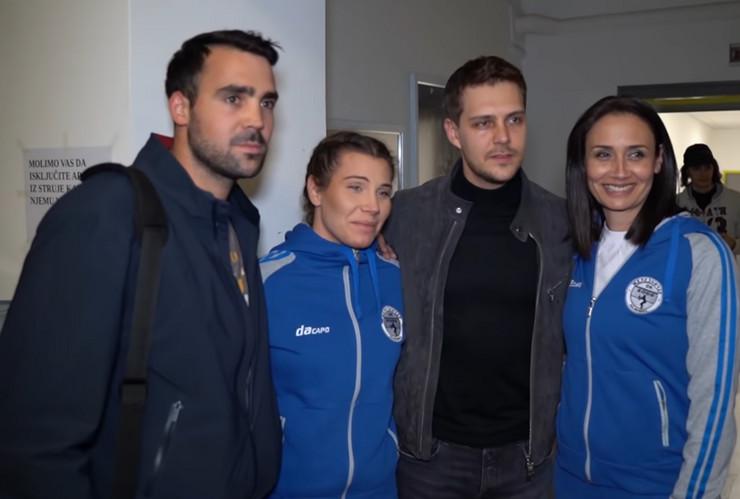 Odbojkašice i Biković