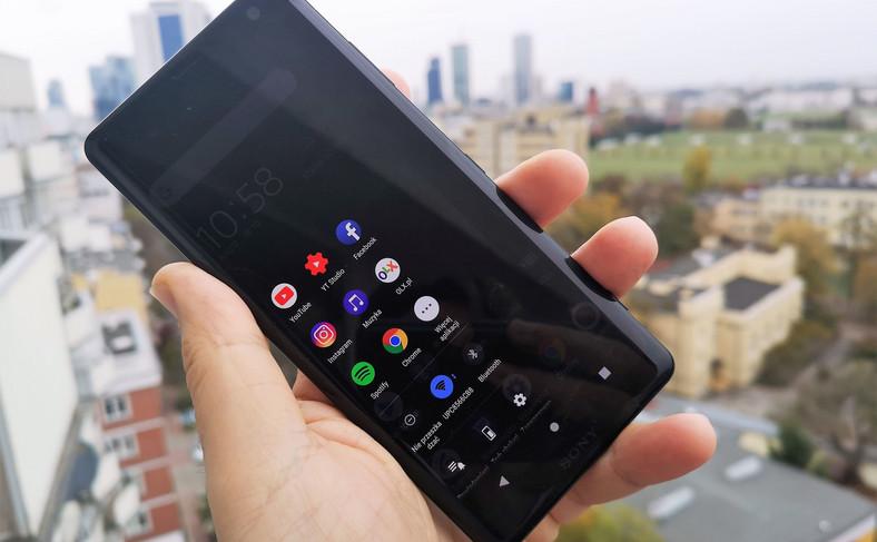 Sony Xperia XZ3 - sensor boczny