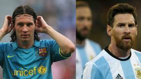 Lionel Messi kończy 30 lat. Zobaczcie, jak się zmieniał