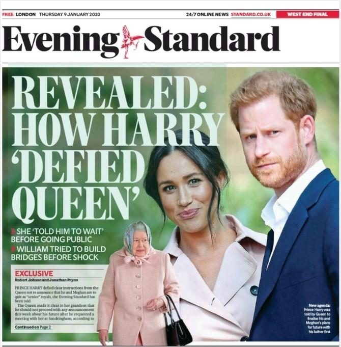 Megan i Hari su preplavili svetske novine