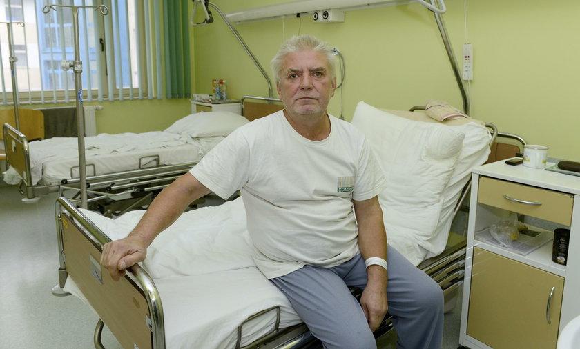 Mirosław Racjan (53 l.), pacjent USK