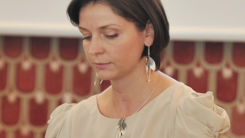 Szefowa Ministerstwa Sportu i Turystyki na posiedzeniu rządu 28 sierpnia 2012 r.