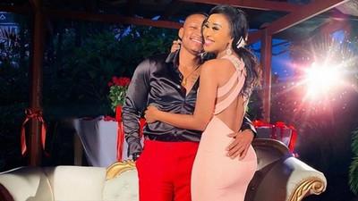 Otile Brown's Ethiopian Girlfriend Nabbi lands in Kenya, gets welcomed at JKIA by the star (Video)