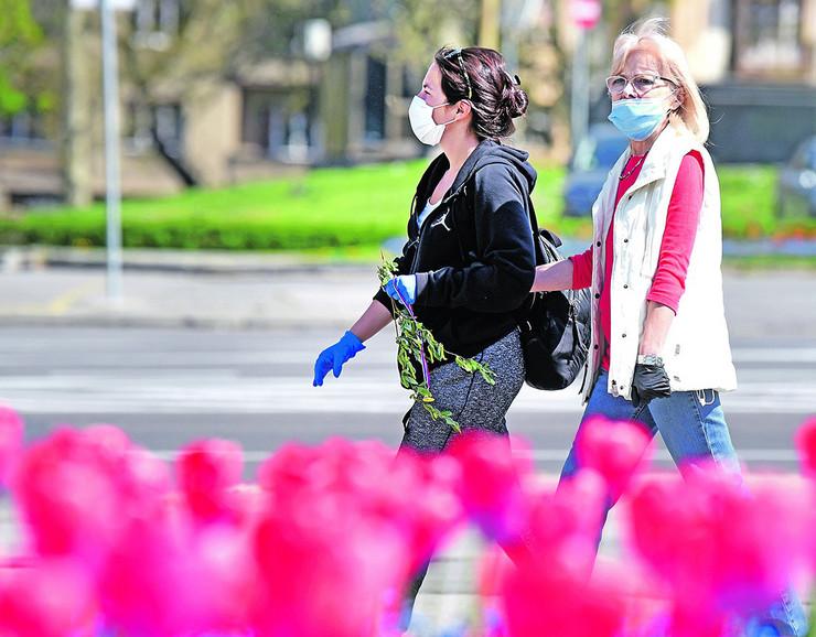 Beograd maske korona virus