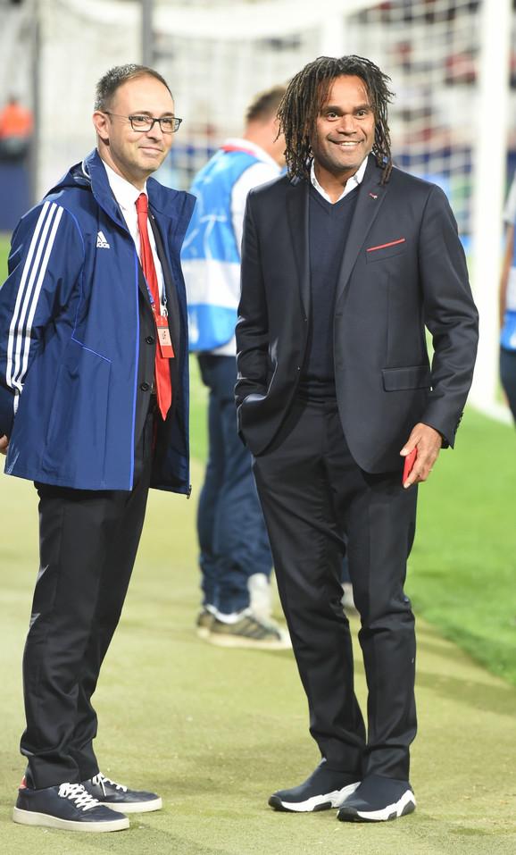 Kristijan Karembu pred meč FK Crvena zvezda - Olimpijakos