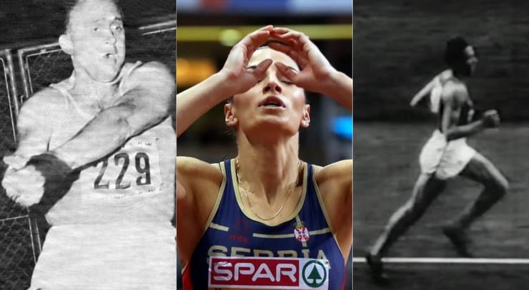 Naši olimpijski prvaci u atletici