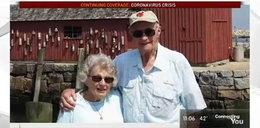 Są razem od 67 lat. Gdy rozdzielił ich koronawirus, zrobił coś niesamowitego
