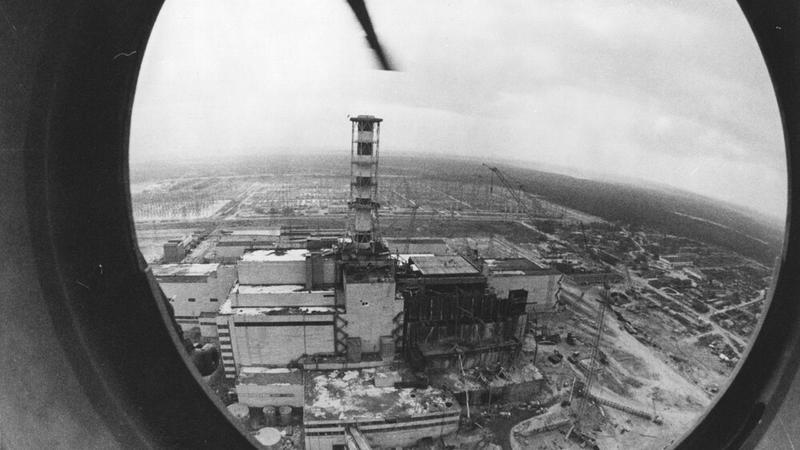 Latające spodki nad Czarnobylem