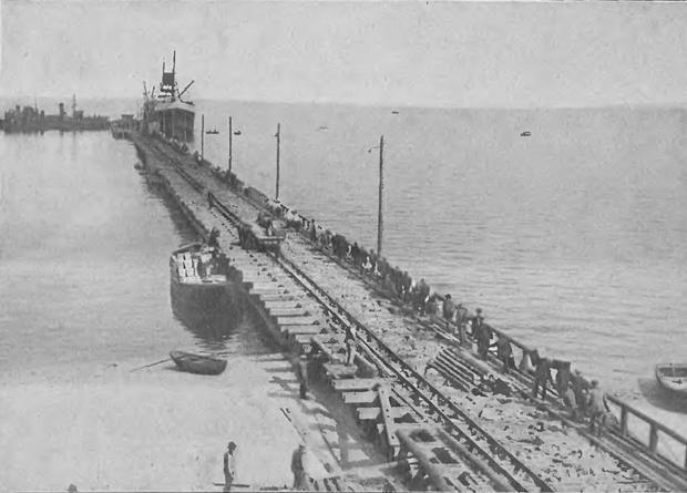 SS Kentucky, pierwszy pełnomorski statek zagraniczny jaki przybył do portu Gdynia, 13.08.1923 r.