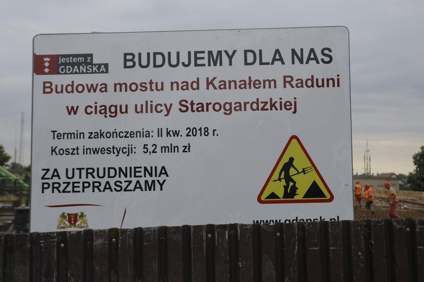 most na Starogardzkiej