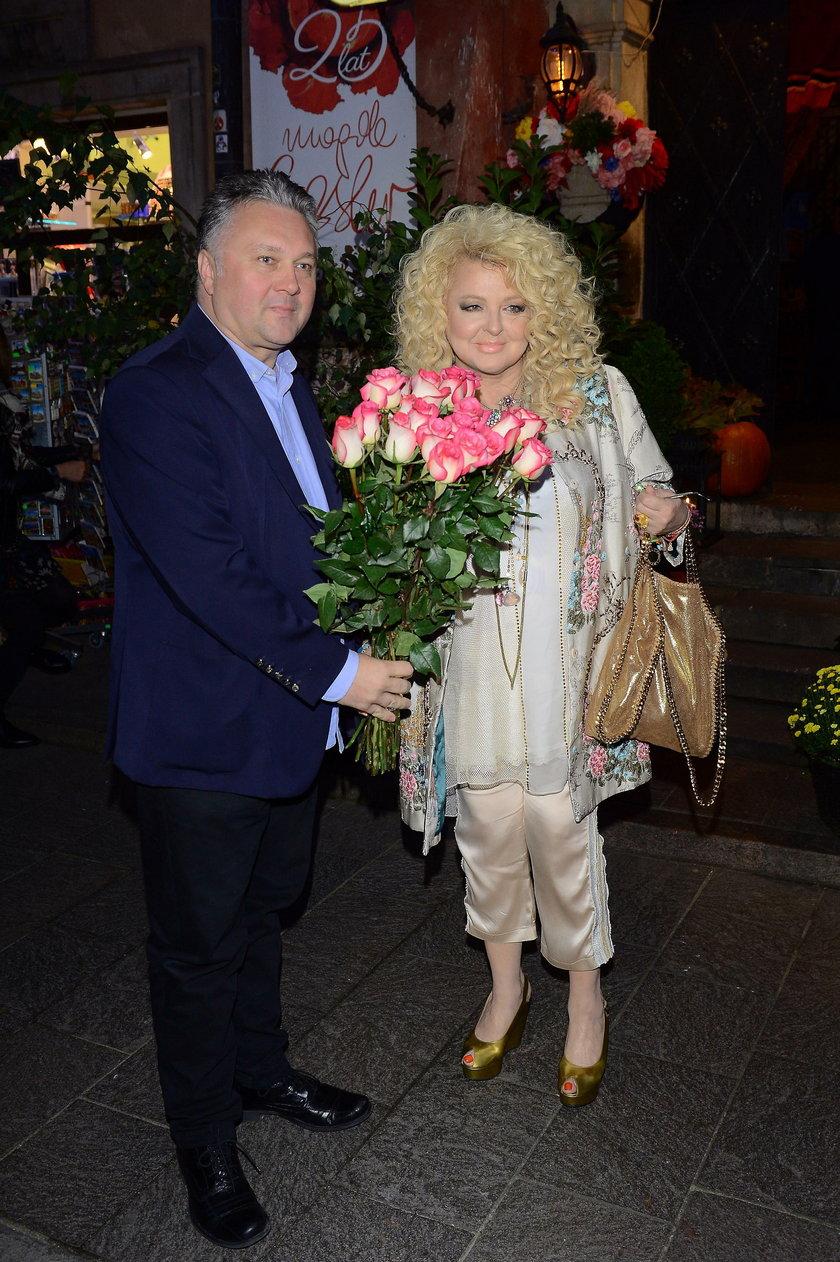 Magda Gessler i Robert Sowa