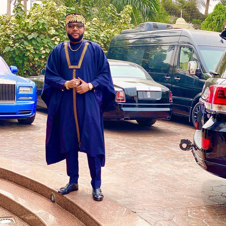 Nigerian music mogul and businessman, Emeka Okonkwo also known as E-Money has been interrogated by the police following his reported abuse and misuse of the privileges of having escorts. [Instagram/IamEMoney1]
