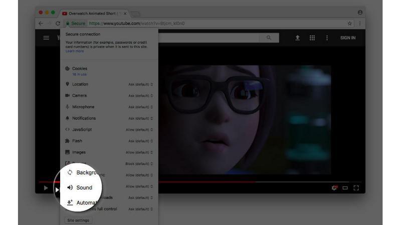 Chrome wyciszy nam każdą stronę