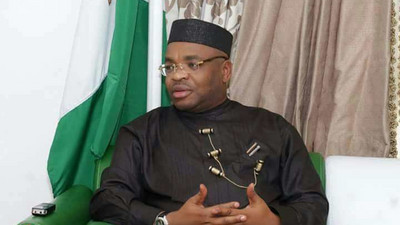 Gov Emmanuel donates N60m to families of policemen killed by gunmen