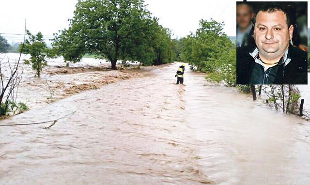 Podivljala reka: Mesto nesreće izgleda zlokobno jer se nevreme ceo dan nije smirivalo