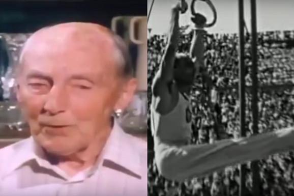 JUGOSLOVEN OD GUME KOJI JE PREMINUO PAR DANA PRED 101. ROĐENDAN Osvojio je prvu medalju za SFRJ ikada na Olimpijskim igrama, a karike su mu bile eliksir mladosti