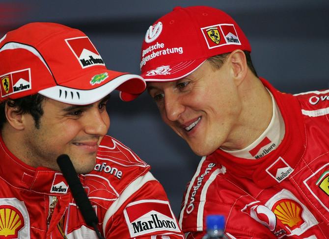 Šumaher i Brazilac Felipe Masa