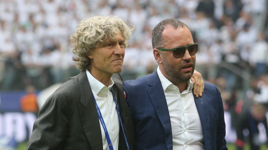 Dariusz Mioduski i Bogusław Leśniodorski