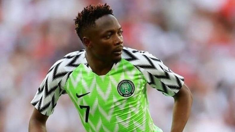 Ahmed Musa won the big award at the NFF Awards on Monday night