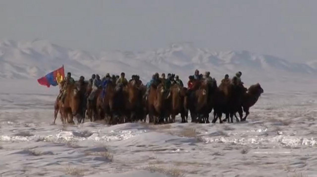 Ova tradicija ima korene u ratnoj istoriji Mongola