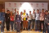 Mladi talenti Matematičke gimnazije sa svojim profesorima