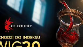 CD Projekt oficjalnie dołącza do WIG20. To historyczny moment polskiej giełdy