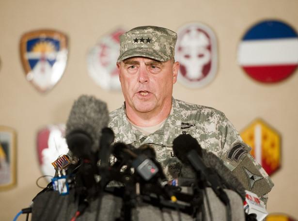 Generał Mark Mileey. Fot. EPA/ASHLEY LANDIS/PAP/EPA
