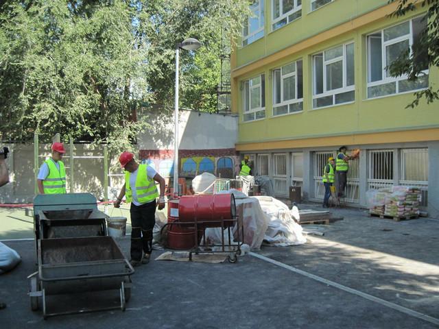 Uskoro Zavrsetak Radova Skola Ivan Goran Kovacic Od 1 Septembra