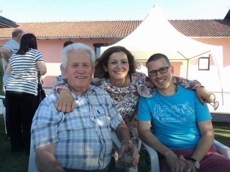 Najstariji Radovan sa Snježanom i Stojanom Vujićem