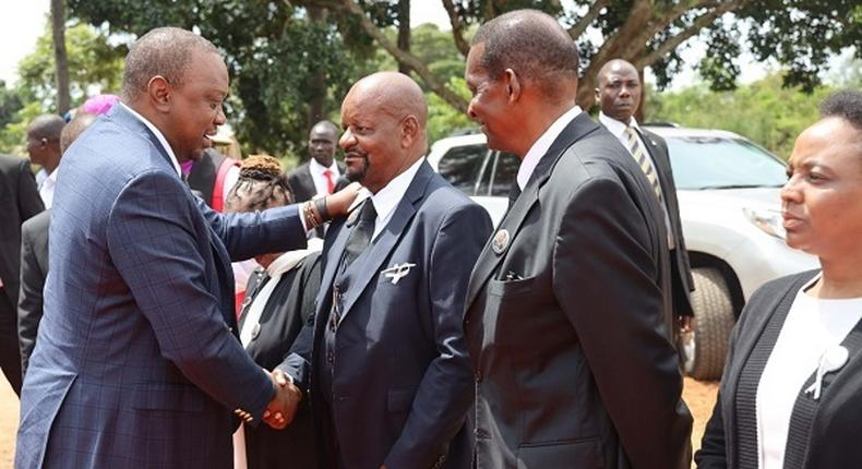 Details indicate that gun found at Naivas Supermarket, Thika was stolen during Charles Rubia's funeral attended by President Uhuru Kenyatta