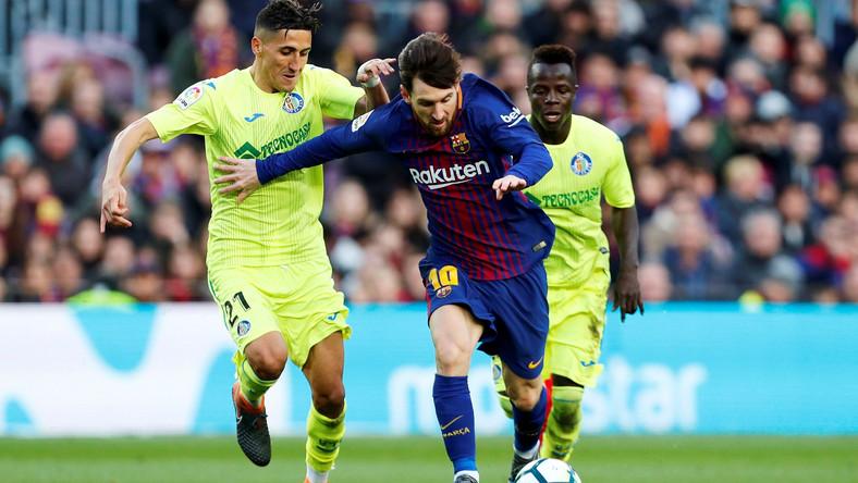 Lionel Messi i Faycal Jajr