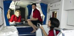 Tu śpią stewardessy w Boeingach
