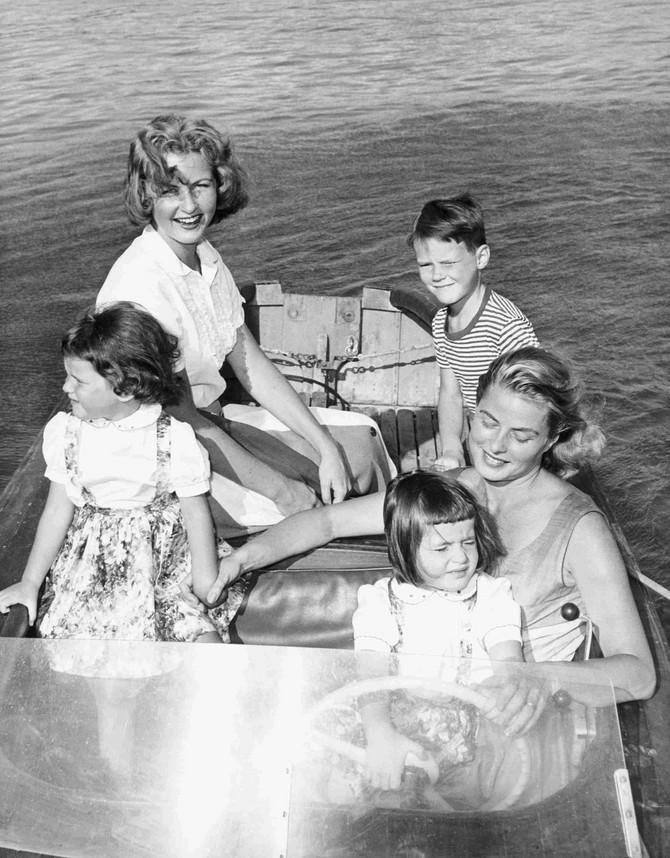 Izabela sa majkom Ingrid Bergman