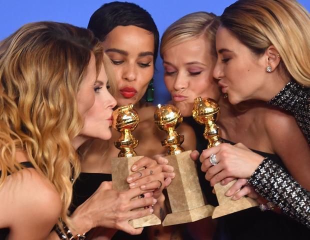 Laura Dern, Nicole Kidman, Zoe Kravitz, Reese Witherspoon i Shailene Woodley