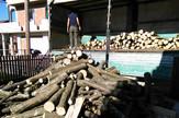 ogrev drva istovar